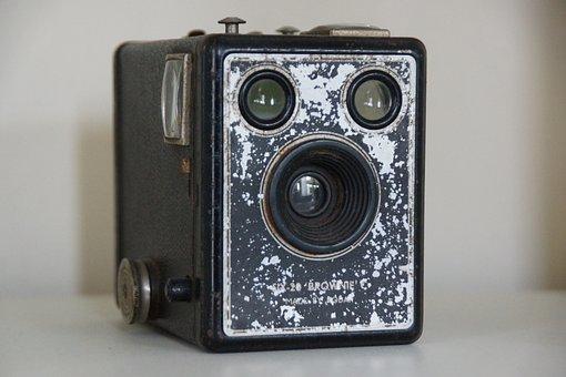Box, Camera, Vintage