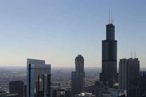 Chicago, Skyline, Illinois, Chicago Skyline