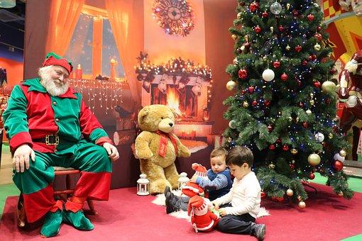 Christmas, Dad, Santa Claus, Merry Christmas