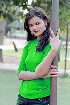 Indian Girl, Beautiful Girl, Indian, Female, Woman