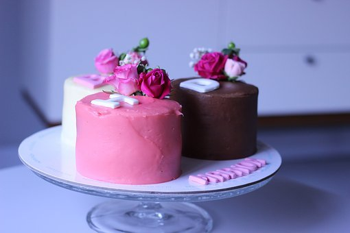 Sweet, Cream, Cake, Flower, Decoration, Food