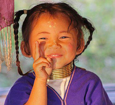 Tribal Girl, Thailand, Girl, Tribe, Indigenous, Culture