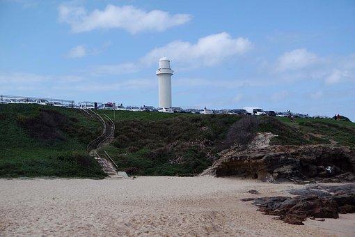 Coast, Sand, Holiday, Lighthouse, Tourism, Vacation