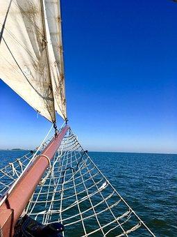 Holland, Netherlands, Ijsselmeer, Sailing Vessel