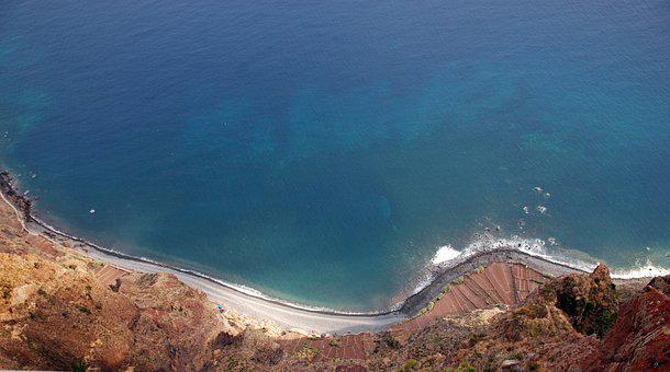 Ocean, View, Water, Madera, Island, The Coast