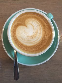 Coffee, Froth, Leisure, Cup, Melbourne, Heart, Love