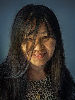 Female, Portrait, Face, Woman, Skin, Attractive, Model