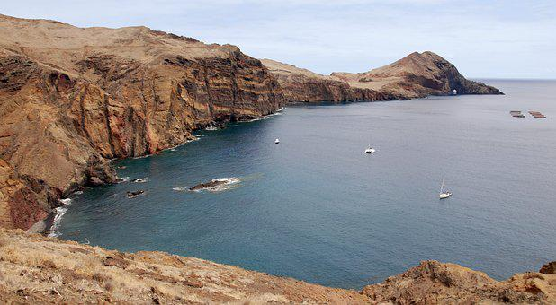 Cove, Rocks, Ocean, Madera, Sea, Holidays, View, Beach