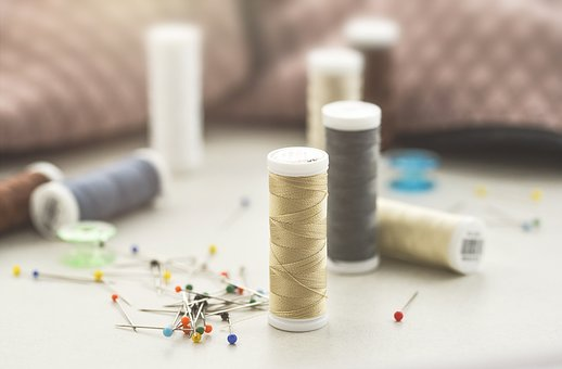 Sewing, Thread, Craft, Sew, Textile, Design, Fashion