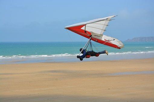 Delta-plane, Free Flight, Leisure, Strong Sensation