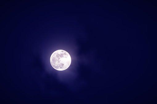 Moon, Night, Not, Sky, The Fullness Of, Super Moon