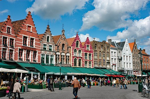 Belgium 2015, The Grote Markt In Bruges, Historically