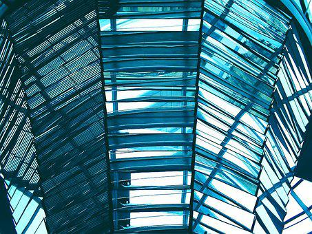 Glass, Reflection, Window, Transparent, Modern