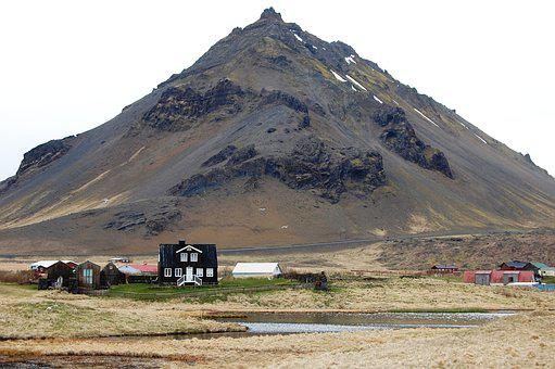 Iceland, Rocks, Mountains, Volcanic Landscape