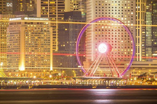 Wheel, Ferris Wheel, Amusement Park, Carnival