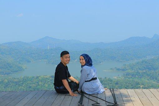 Couple, Romantic, Nature, Adventure, Kalibiru