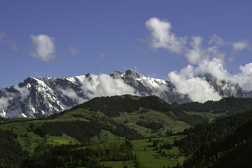 Alps, Mountains, Mountain Ridge, Rocks, Landscape