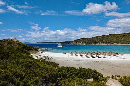 Sardinia, Italy, Villasimius, Beach