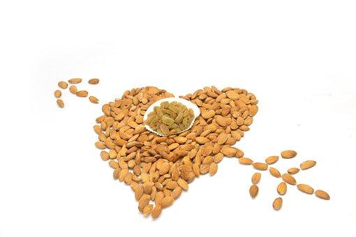 Almond, Bowl, Dry, Eat, Food, Fresh, Fruit, Group, Hard