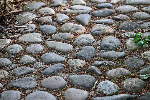 Cobble Stones, Cobbles, Stone, Footpath, Path, Cobbled
