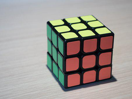 Rubik's Cube, Cube, Yellow, Puzzle, Rubik, Color