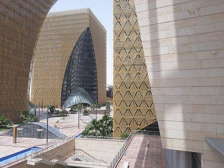Architecture, Digital City, Riyadh, Futuristic