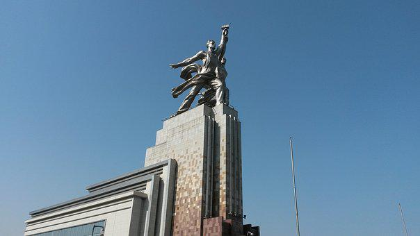 Moscow, Russia, Monument, Enea, The Ussr