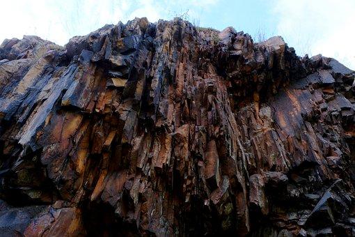 Cliff, Rock, Landscape, Erosion, Stones, Boulders