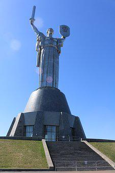 European, Ua, Kiev, Museum, Statue