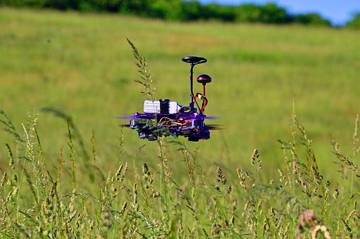 Flying, Flying Drone, Race Drone, Modern, Rotor