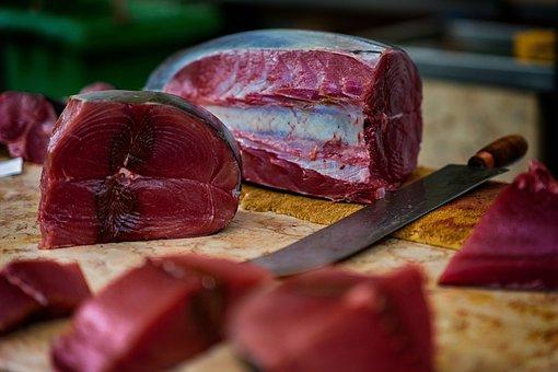 Tuna, Fish Market, Fresh Catch, Market, Fish, Frisch