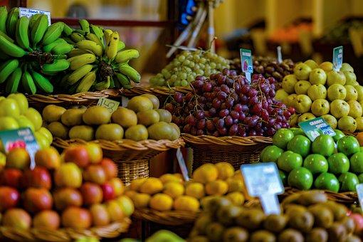 Fruit, Market, Fruits, Apple, Berries, Citrus Fruit