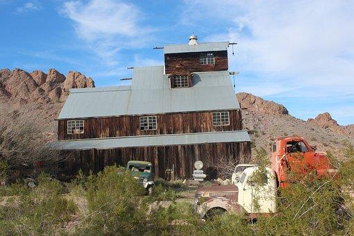 Nelson's Landing, Nevada, Mining, Gold, Mine, Desert