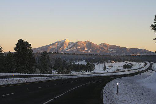 San Francisco Peaks, Kachina Village, Arizona