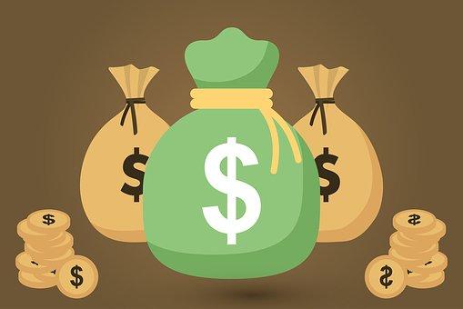 Money Bags, Cash, Money, Bag, Dollar, Currency, Finance