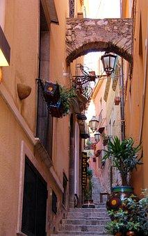 Sicily, Italia, Kamienica, Italy, Sicilia, Monuments