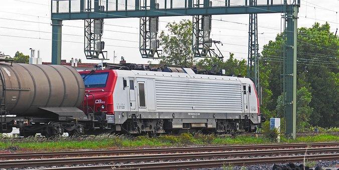 Electric Locomotive, French, Alstom, Prima, Br E37
