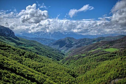 Nature, Sky, Mountain Landscape