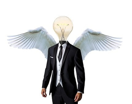 Business Angel, Mentor, Businessman, Suit, Business