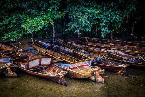 Boat, Boats, Canal, Rowing, Transportation, Tourism
