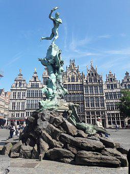 Water, Brussels, Trip, City, Europe, Capital