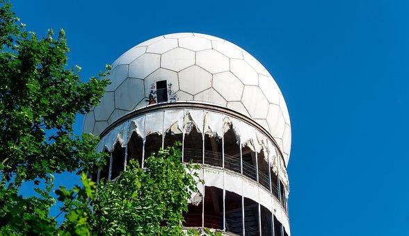 Nature, Radar Station, Abandoned, Teufelsberg, Break Up