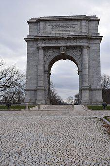Valley Forge, Arch, Stone Monument