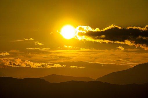 Sky, Afterglow, Sun, Sunrise, Sunset, Atmosphere
