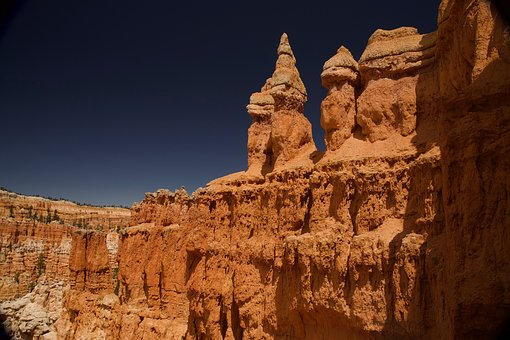 Bryce, Canyon, National, Park, Utah, Nature, Rock, Red