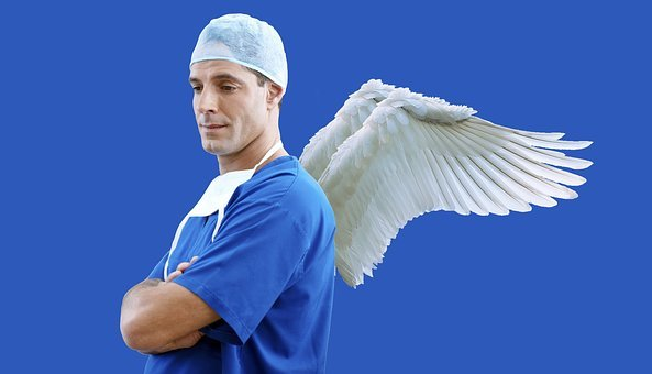 Doctor, Physician, Angel, Care, Healthcare, Medical