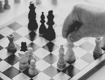 Black And White, Business, Challenge, Chess