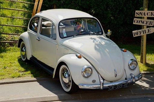 Volkswagen Beetle, Car, Vintage, Former, Collection