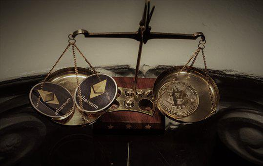 Cryptocurrency, Balance, Scale, Coin, Business, Money