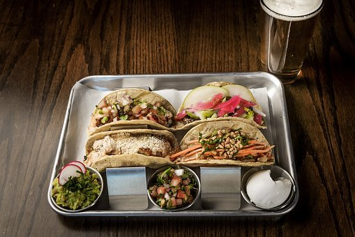 Tacos, Food, Mexican, Tray, Beer, Culinary, Foodie